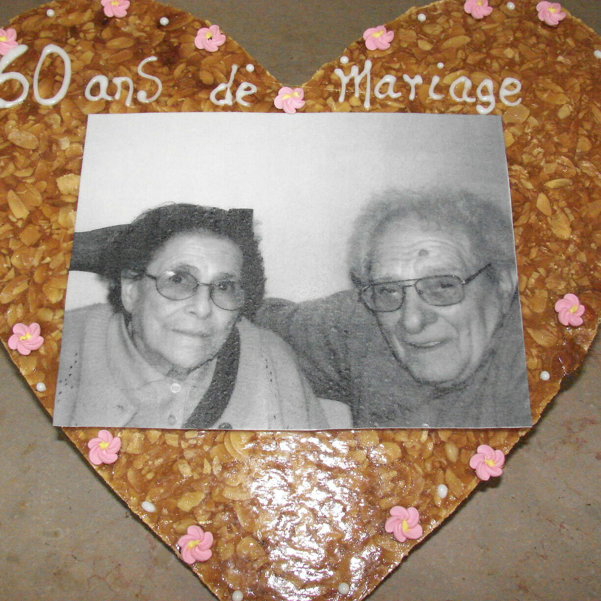 60 ans mariage